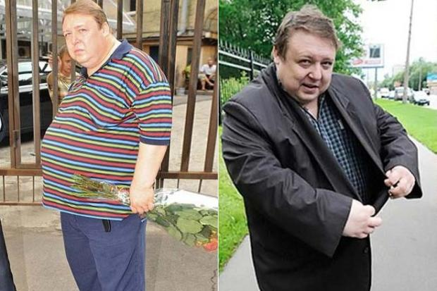 похудел