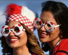 Хорватские фанатки побуждают забивать голы: болеть нужно такчтобы сборная хотела побеждать