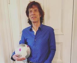 Англия-Хорватия: поддержать любимую команду в Москву приехал легендарный Мик Джаггер