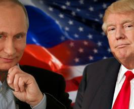 Совмещенный портрет Дональда Трампа и Владимира Путина украсил обложку известного издания