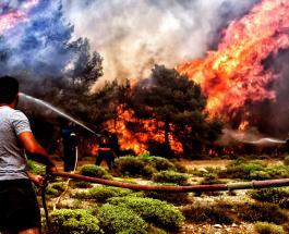 Греция в трауре: жертвами страшных пожаров стали 74 человека и прогнозы неутешительны