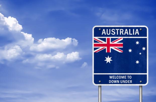 Указатель Австралия