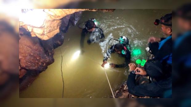 Спасение детей в Таиланде: в затопленной пещере остался всего один ребенок