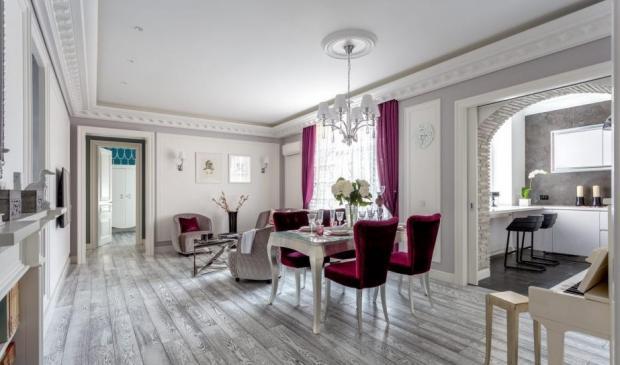 Роскошный ремонт квартиры Ирины Салтыковой: как выглядят апартаменты певицы