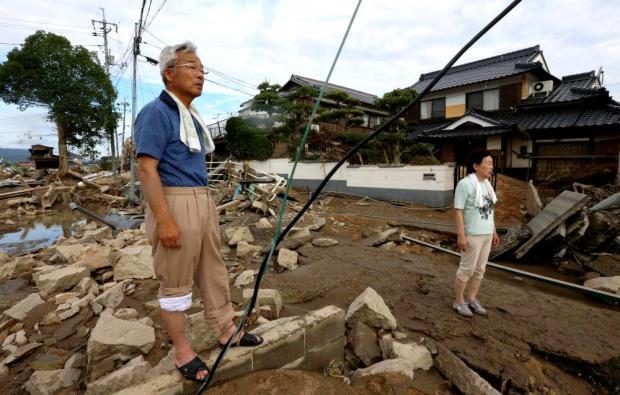 Наводнение в Японии: количество жертв стихии уже достигло почти двух сотен человек