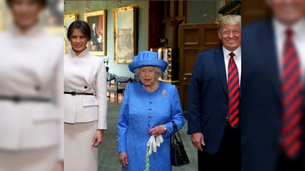 Дональд Трамп в Великобритании: Елизавета ll пригласила президента США с женой на обед