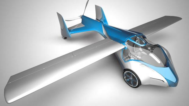 ВСША представили летающий автомобиль BlackFly