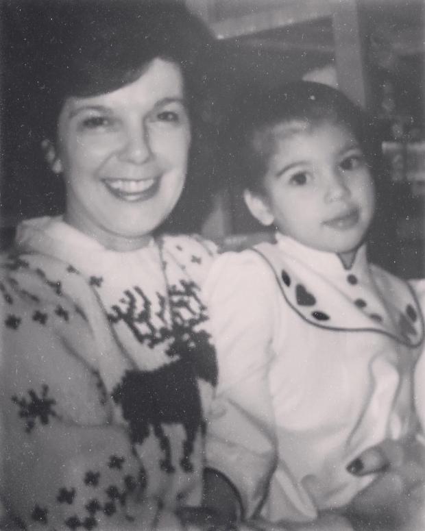 Ким Кардашьян в детстве