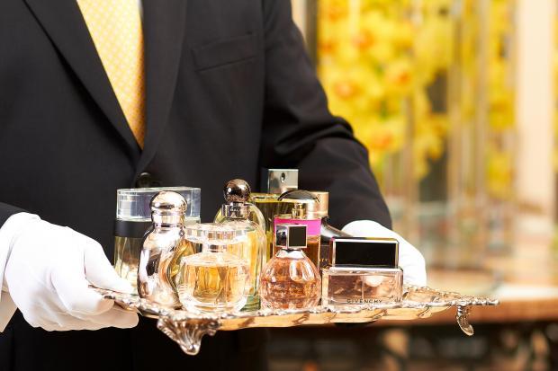 Rosewood Hotel - дворецкий по ароматам