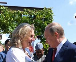 Глава МИД Австрии вышла замуж: как прошла свадьба на которую был приглашен Владимир Путин