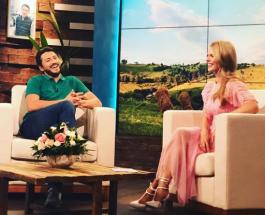 Оля Шоу 1 выпуск: в гости к Ольге Фреймут пришли Сергей Притула и Екатерина Кухар