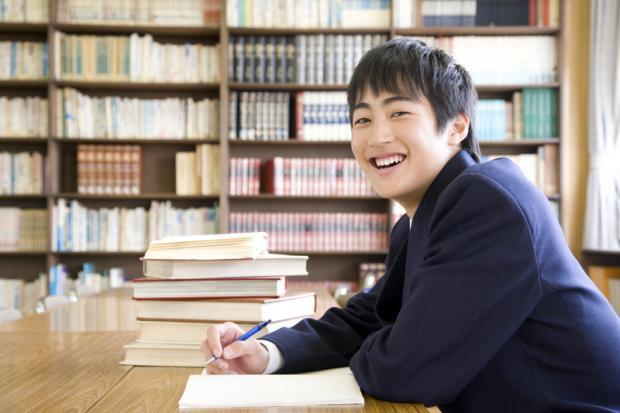 японский студент