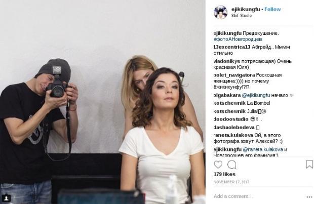 Юлия Захарова и Алексей Новгородцев