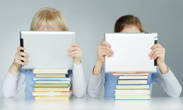 Планшет или учебник?