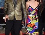 Джефф Голдблюм с женой