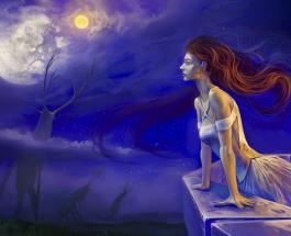 Старший аркан Луна: значение и положение в картах Таро