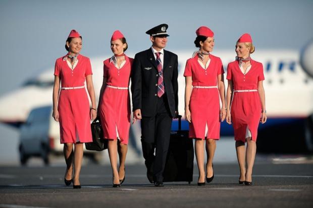 Пилоты и бортпроводники