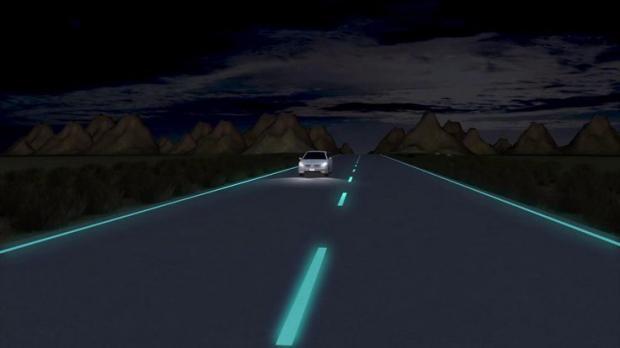 световая дорожная разметка