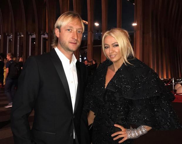 Евгений Плющенко Яна Рудковская