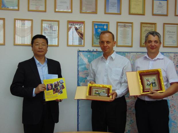 Делегация города Чэнду (Китай, Сычуань) в Украине по приглашению UkraineIS