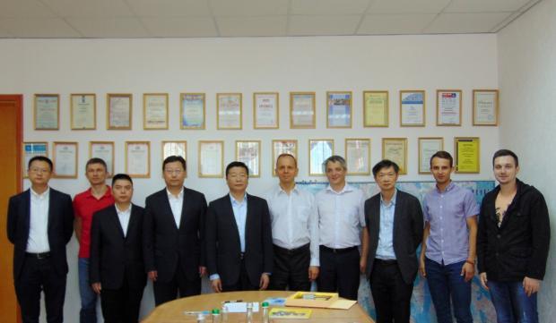 Китайская делегация из Ченду (провинция Сычуань) в гостях у UkraineIS (Киев, Украина)