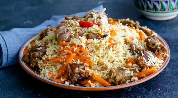 Рецепт плова со свининой: как приготовить сытное блюдо чтобы рис получился рассыпчатым