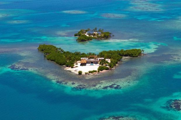Райский отдых за 2200 долларов в сутки: фото острова на котором расположена всего одна вилла