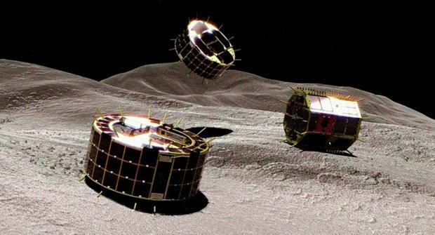 Два японских робота успешно приземлились наастероид Рюгу иприслали фотогр ...
