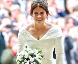 Первые официальные фото со свадьбы внучки королевы Елизаветы II – Принцессы Евгении