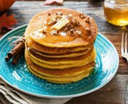 Десерт на ужин: сладкие панкейки с ингредиентом пахнущим осенью