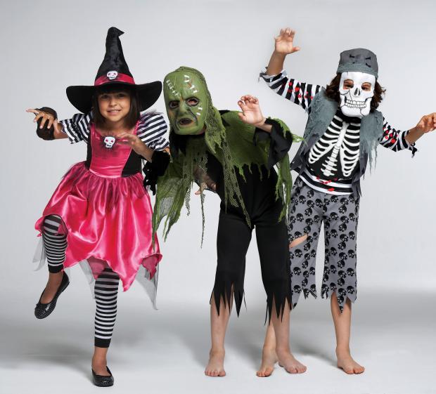 детские костюмы на Хеллоуин