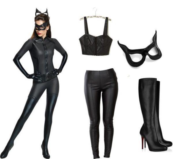 костюм женщины кошки