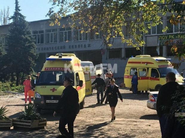 взрыв в колледже Керчи