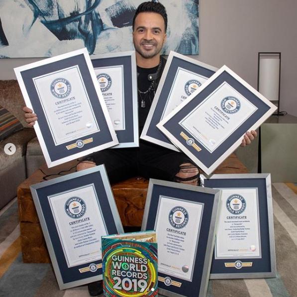 Рекорд нарекорде!: «Despacito» отхватила семь титулов в книжке рекордов Гиннесса