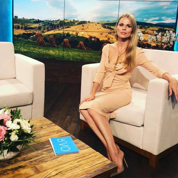 Оля Фреймут + Леся Українка = любов: Знаменита ведуча натякнула на концепцію проекту, однак цей «ребус» її прихильники не можуть розгадати, фото-2