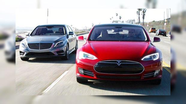 Tesla и Mercedes