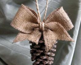 Новогодний декор из шишек: подборка оригинальных идей украшений своими руками