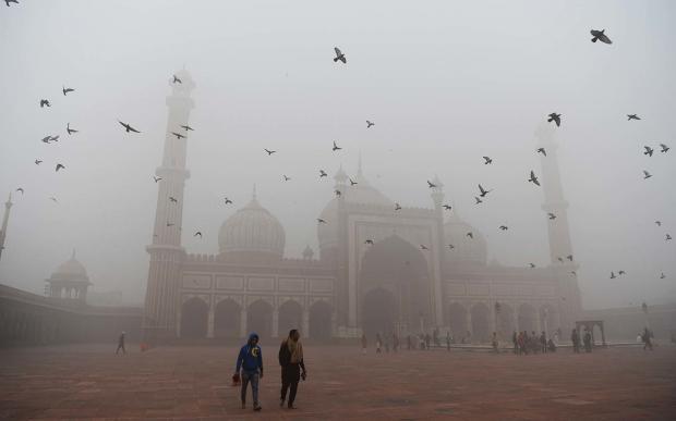 смог в Индии