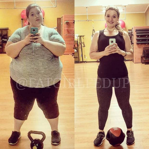 Невероятная история похудения: девушка сбросила вес благодаря собакам картинки