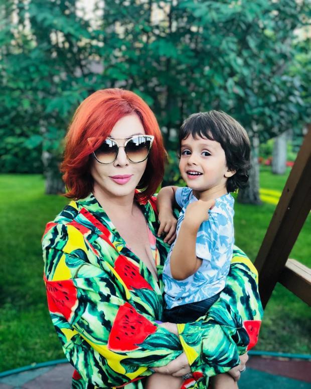 Ирина Билык с сыном