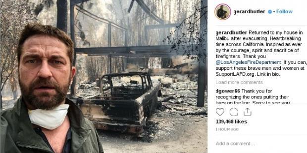 Певица Майли Сайрус лишилась дома вКалифорнии из-за лесных пожаров / Радиостанция