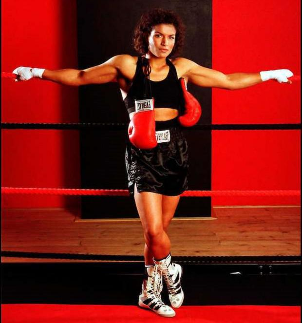 бокс женщины