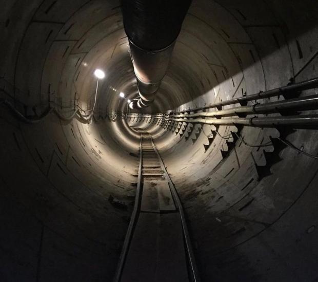 тоннель илона маска