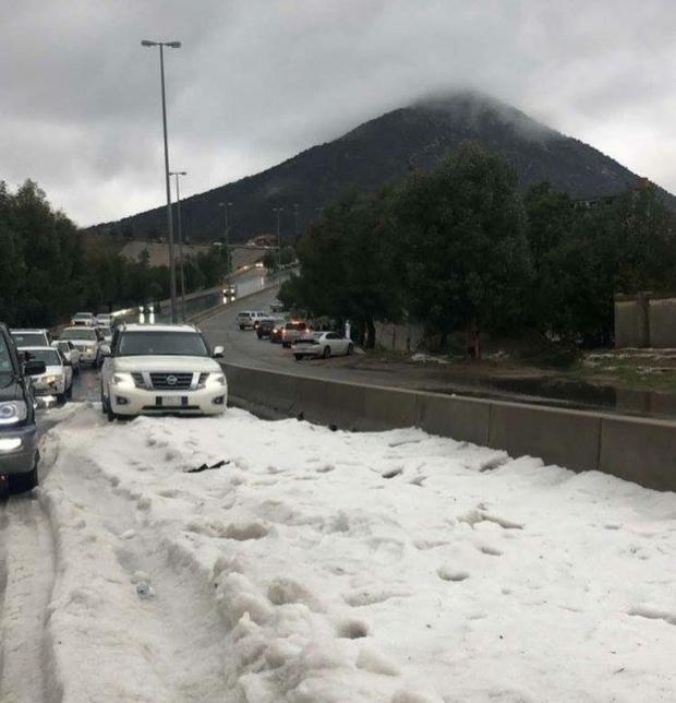 снег аравия