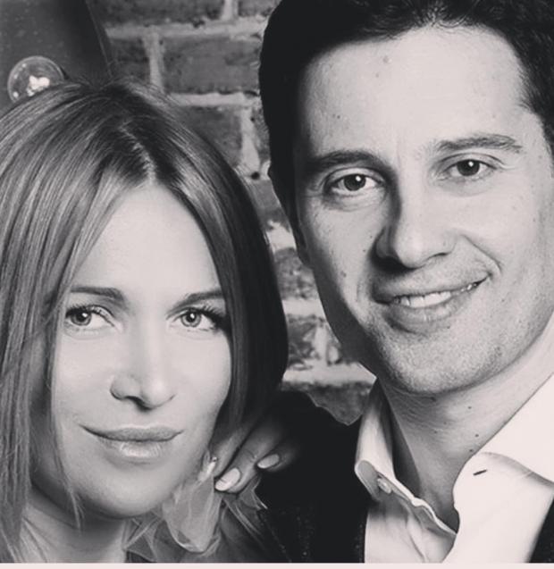 Антон Макарский с женой