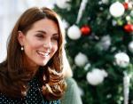Новый выход Кейт Миддлтон: герцогиня в платье в горох и старых туфлях восхитила красотой