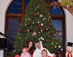 Робин Тик с детьми и невестой
