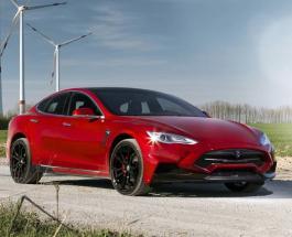 Умная Tesla: электромобиль со спящим нетрезвым водителем на борту пытался уйти от полиции