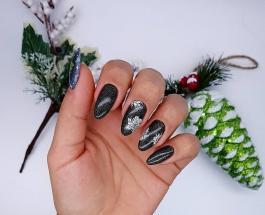 Тематический маникюр: топ-25 способов интересно украсить ногти к Рождеству и Новому году