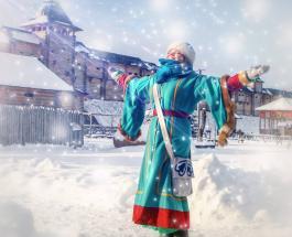 """Под Киевом начинается Новогодняя сказка в """"Парке Киевская Русь"""""""